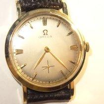 Omega 1957 Cal. 302 32mm 17J  14K Solid Gold Mens Watch