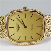 Longines 18kt Gold Quartz 1985 Unworn