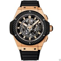 Hublot King Power UNICO Chronograph Gold 48mm 701.OQ.0180.RX NEW