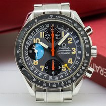 """Omega 3520.53.00 Speedmaster Day Date """"Exotic"""" SS (25509)"""