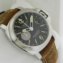 Panerai Luminor GMT Automatic Acciaio 44mm Box and Papers...