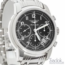 Longines Saint Imier Chronograph 41mm Black Dial Watch...