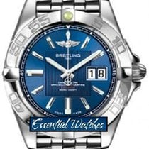 Breitling a49350L2/c806-ss Galactic 41 Automatic in Steel - on...