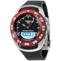 Tissot Men's T0564202705100 Sailing Touch Black Chronograp...
