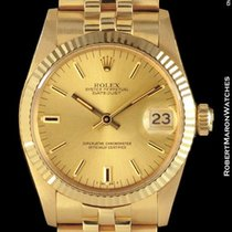 Rolex 6827 Datejust Mid Size 18k