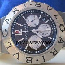 Bulgari Diagono Automatik Chronograph Titan Box+Papiere 2009
