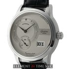 Glashütte Original Panomatic Date Stainless Steel 39mm Silver...