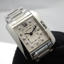 Cartier- Tank Anglaise - Kleines Modell, Ref. W4TA0003