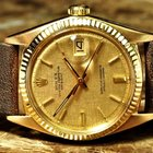 Rolex Datejust 18k Gold Mens 36mm