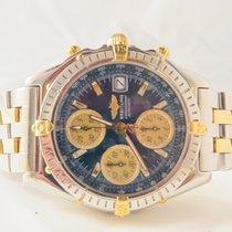 Breitling Chronomat GT Chronograph Full Steel Gold
