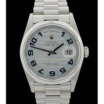 Rolex Day-Date Ref.: 18206 - Platin - Full Set - Bj.: 06/1999...