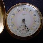 Elgin G.M.Wheeler 18s 15J  Pocket Watch 18K Solid Gold Hunter...