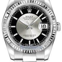勞力士 (Rolex) Datejust 36mm Stainless Steel 116234 Black/Silver...