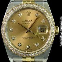 Rolex 116243 Datejust Stainless & 18k Yg Automatic Diamond...