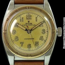 Rolex 3372 Oyster Perpetual Bubble Back Ss/14k