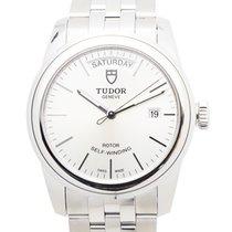帝陀 (Tudor) New  Glamour Date Stainless Steel Silver Automatic...