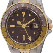 勞力士 (Rolex) GMT-Master ref# 1675 SS/14K YG circa 1971