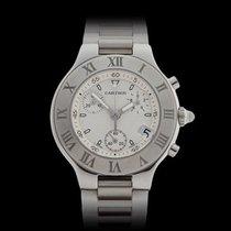 Cartier Must de 21 Chronoscaph Stainless Steel Unisex W10184U2