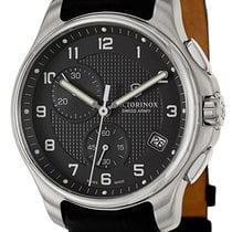 Victorinox Swiss Army Classic Officer's Chronograph Steel...