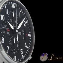 IWC Fliegeruhr Pilots Chronograph Date Day Edelstahl | 43mm