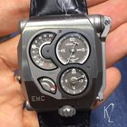 Urwerk EMC (Electro Mechanical Control) in steel - UR-EMC Steel