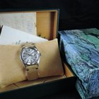Rolex Datejust 1625 SS Thunderbird Silver Sigma Dial wi...