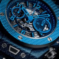 Hublot [NEW]Big Bang Unico Italia Independent Texalium Case...
