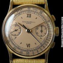 Patek Philippe Vintage 130 Chronograph Rose Dial 18k Rose