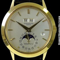 Patek Philippe Tiffany 3450 Unpolished 18k Automatic Perpetual...