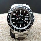Rolex GMT MASTER 2 16710 (T25 Dial) Black Bezel