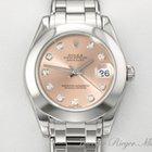 Rolex Datejust Pearlmaster 34mm Weissgold 750 Diamanten Date Just