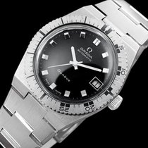 Omega 1973 Geneve Vintage Mens Divers Watch - Stainless Steel