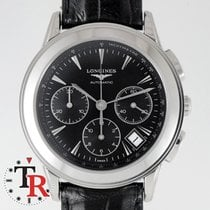 Longines Flagship Chronograph Like New, box+papers
