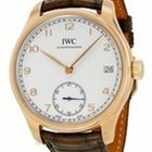 IWC Portuguese Hand Wound 8 Days Automatic in Rose Gold