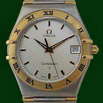 Omega Constellation Date 34mm 18k Gold Steel
