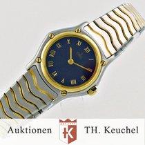 Ebel Classic Wave Gold 18K Stahl Ref. 1057901