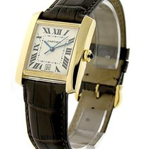 Cartier W5000156 Large Size Tank Francaise - Yellow Gold on...