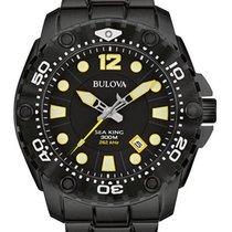 Bulova Mens Sea King Professional Dive Watch - Black - 300M WR
