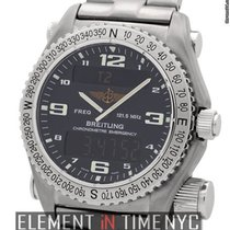 Breitling Emergency Superquartz Titanium 43mm Charcoal Dial...