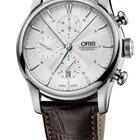 Oris Artelier Chronograph Leather Stainless Steel