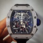 Richard Mille [NEW][LTD] RM 011 White Gold Diamond Asia...