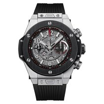 Hublot Big Bang 45 mm Mens Titanium Ceramic Automatic Watch...