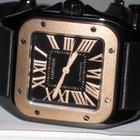 Cartier Santos 100 18K Rose Gold MidSize Automatic