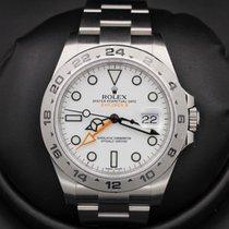 Rolex Explorer II - 42mm - 216570 - White Dial - RANDOM Serial...