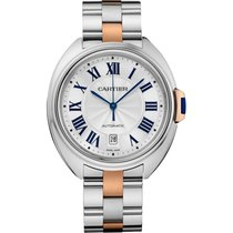 Cartier Cle de Cartier 35mm Steel and Rose Gold Watch