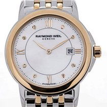 Raymond Weil Tradition Stainless Steel Yellow Gold Mother of...