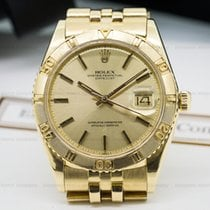 Rolex 1625 Datejust Turn O Graph 18K Yellow Gold (24165)
