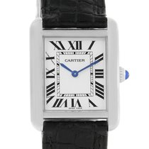 Cartier Tank Solo Ladies Stainless Steel Quartz Watch W1018255