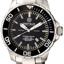 Deep Blue Daynight Recon Tritium T-100 Auto Watch Swiss Eta...