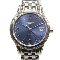 Longines Flagship Stainless Steel Dark Blue Automatic L4.274.4...